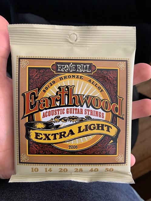 Ernie Ball Earthwood 10-Gauge Acoustic Strings