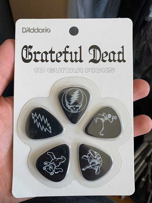 Grateful Dead Picks (Pack of 10)