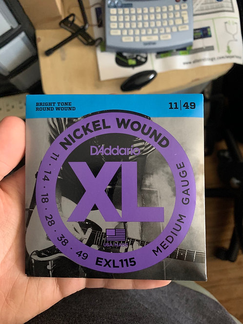 D'Addario 11-Gauge Strings