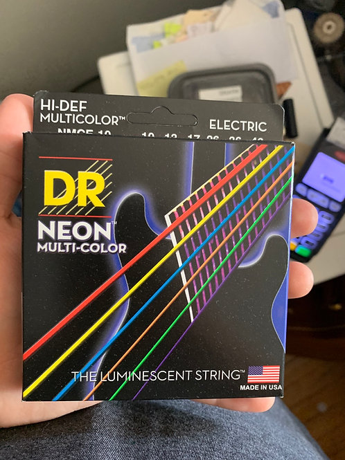 Dr. Neon Multicolor Strings