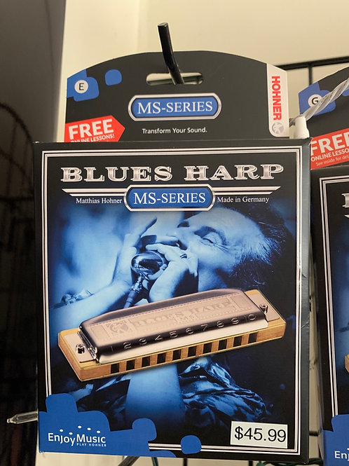 Blues Harp MS Series Harmonica (Key of E)