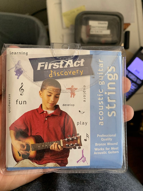 First Act Acoustic Guitar Strings