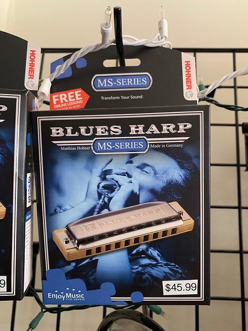 Blues Harp MS Series Harmonica (Key of G)