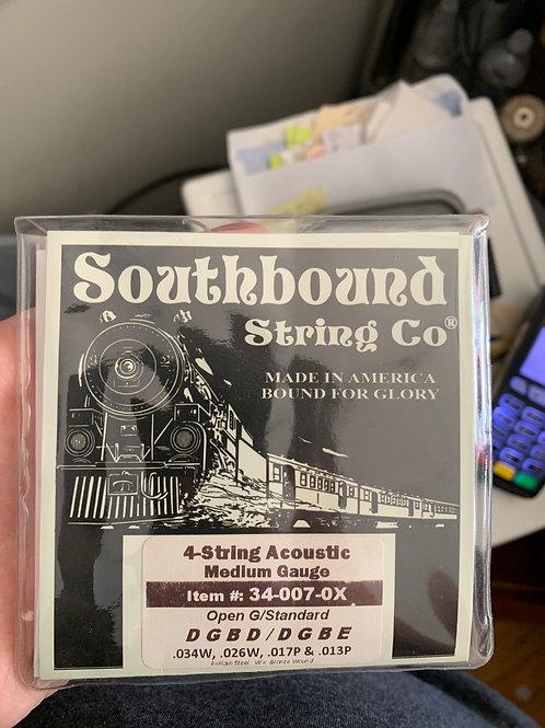 4-String (Cigar Box) Acoustic Strings