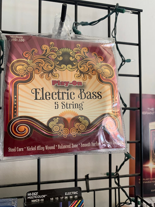 Play-On Electric 5 String Bass Strings