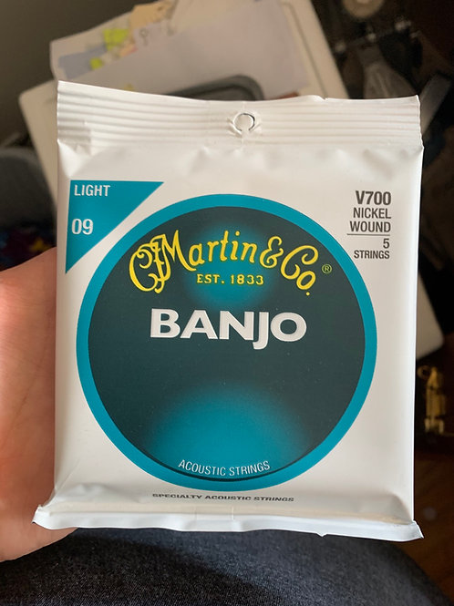 Martin Banjo Strings