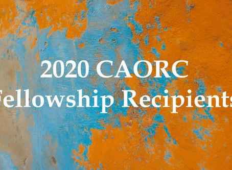 CAORC Announces Fellowship Recipients