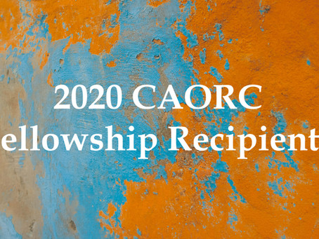 CAORC Announces Fellowship Recipients
