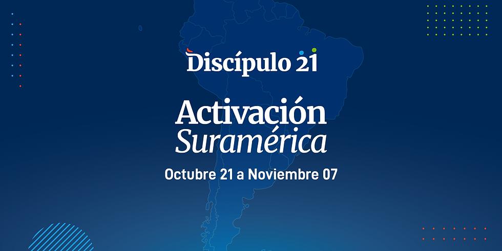 Activación D21   Suramérica