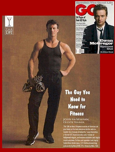 GQ magazine feature Guys You Should Know - John Hanrahan for Fitness