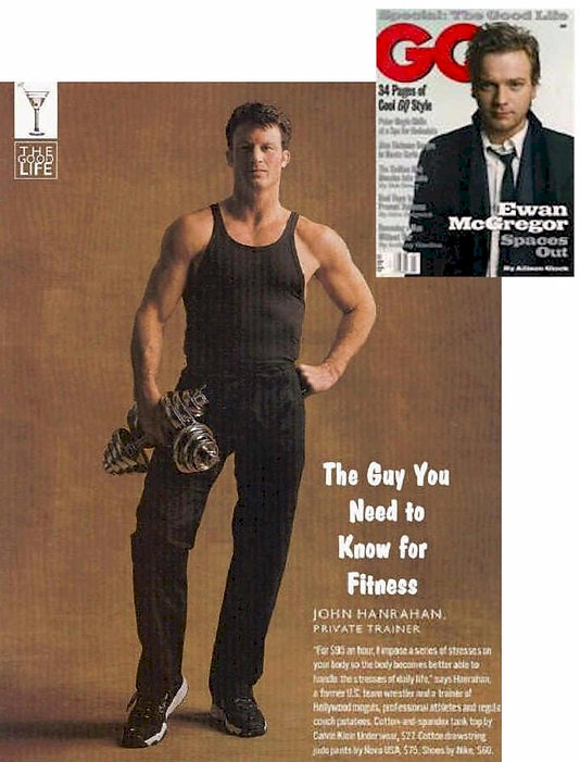 GQ magazine Guys You Should Know - Private Trainer John Hanrahan for Fitness