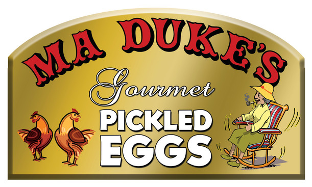 Ma Duke's Food Label