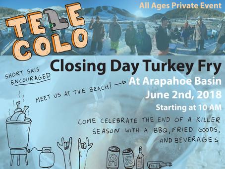 Telemark Colorado Closing Season Turkey Fry (June 2, 2018)