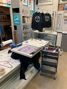 Screen Printing with Telemark Colorado
