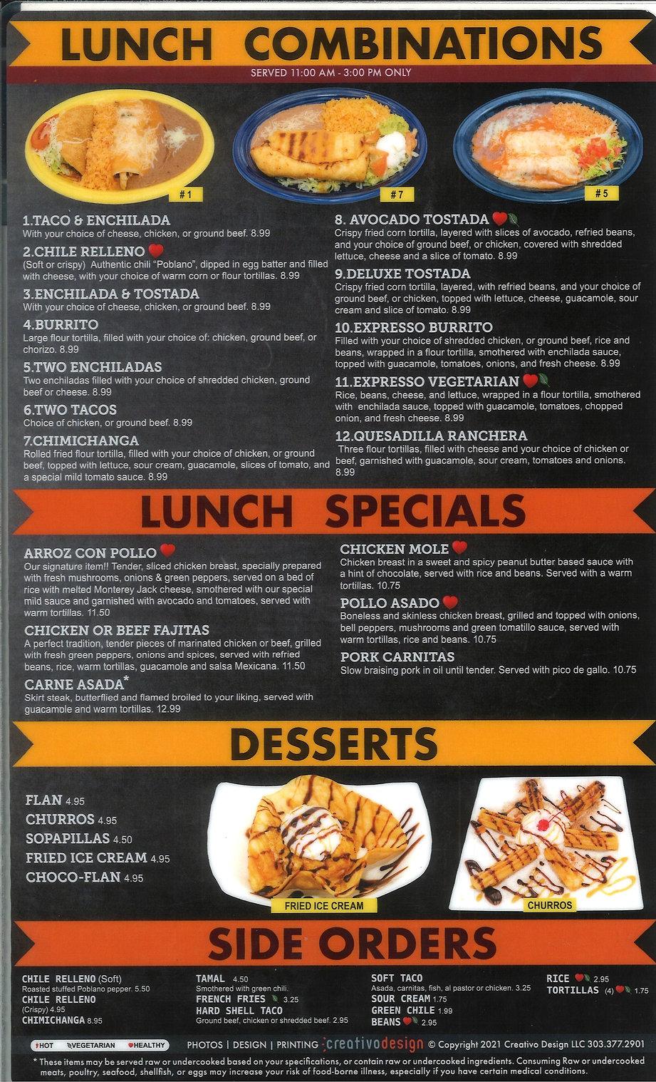 Lunch, desserts, side orders,  Tecate_edited.jpg