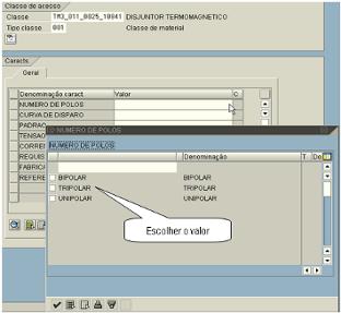 Classificador SAP PDM