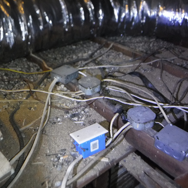 Regrettably this is not an unfamiliar sight.  Please use a licensed electrician.