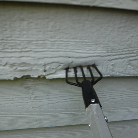 All siding and trim is checked for damage
