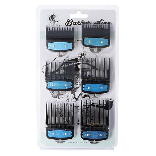 PACK DE 6 PEINES METALICOS | Barber Line