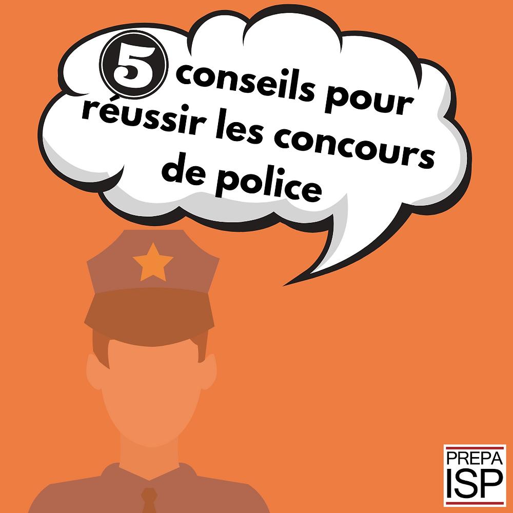 concours police conseils commissaire professeur droit penal