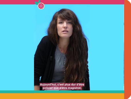 """[VIDÉO] """"C'est plus dur de rentrer dans la police que d'être magistrat""""- Entretien avec Agnès Naudin"""