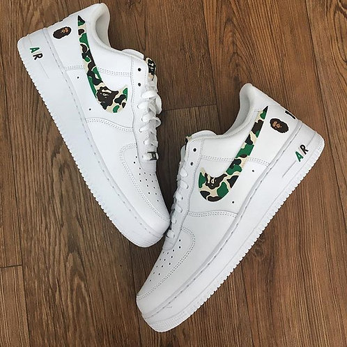 Nike Air Force 1 Low 'Bape Swoosh'