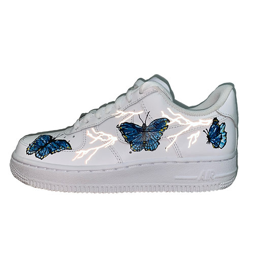 Reflective Lightning x Butterfly Nike Air Force 1