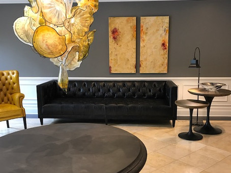 Schuyler Pond Completes Stunning Lobby Renovation in Saratoga Springs, NY