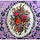 "Thumbnail: ""Lavender no.7"" by Jennifer Lanne ~ Pad of 50 Placemats"