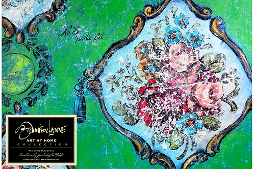 """Viridis"" by Jennifer Lanne ~ Pad of 50 Placemats"