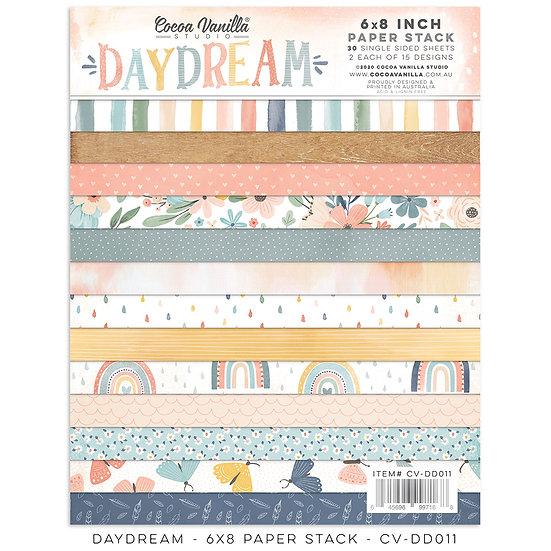 Cocoa Vanilla Studio - 6 x 8 Paper Stack - Daydream