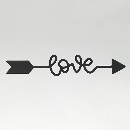 Love Arrow Cut File