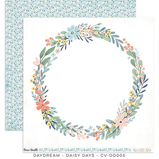 Cocoa Vanilla Studio 12 x 12 Paper - Daydream - Daisy Days