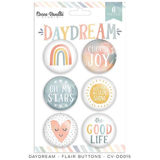 Cocoa Vanilla Studio - Flair Buttons - Daydream