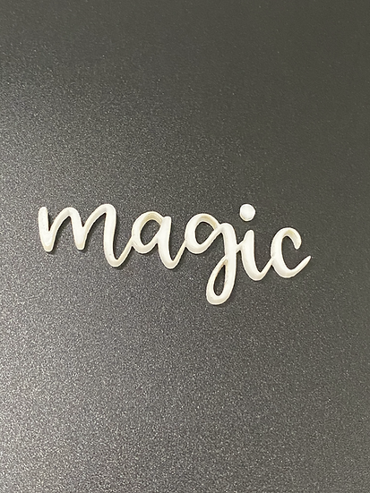 Magic Acrylic Word