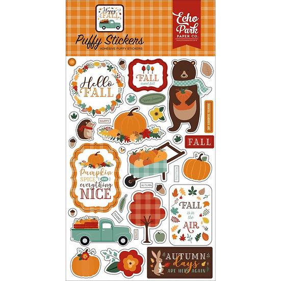 Echo Park Happy Fall Puffy Stickers