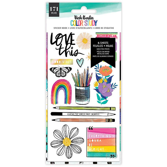 Vicki Boutin Color Study Sticker Book