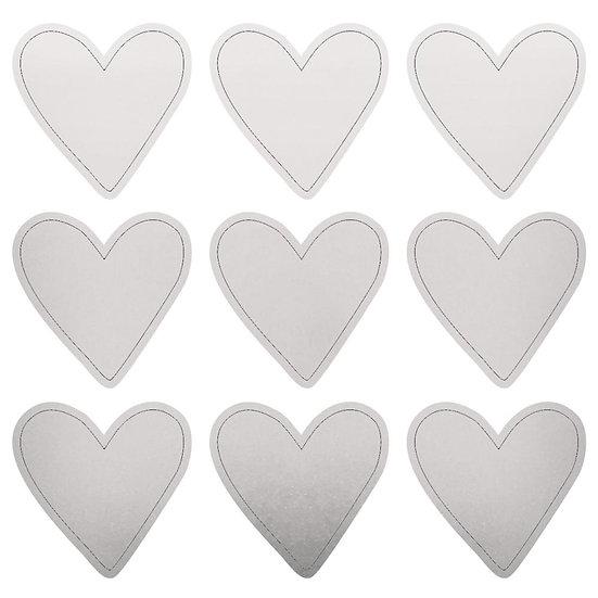 Kaisercraft Lucky Dip Heart Foil Stickers
