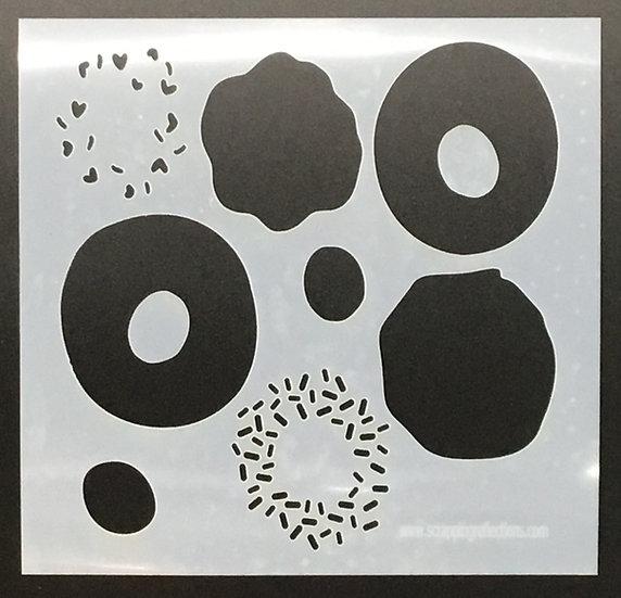 Donut Builder Stencil