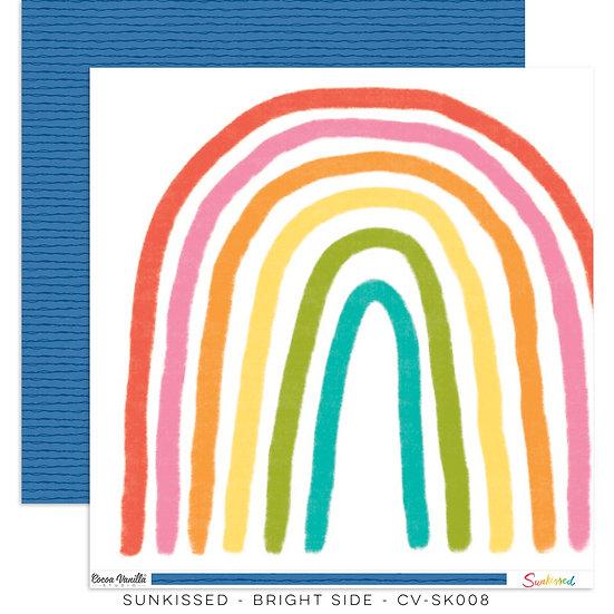 Cocoa Vanilla Studio 12x12 Paper Sunkissed -Bright Side
