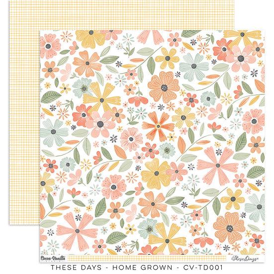 These Days 12 x 12 Paper Home Grown // Cocoa Vanilla Studio
