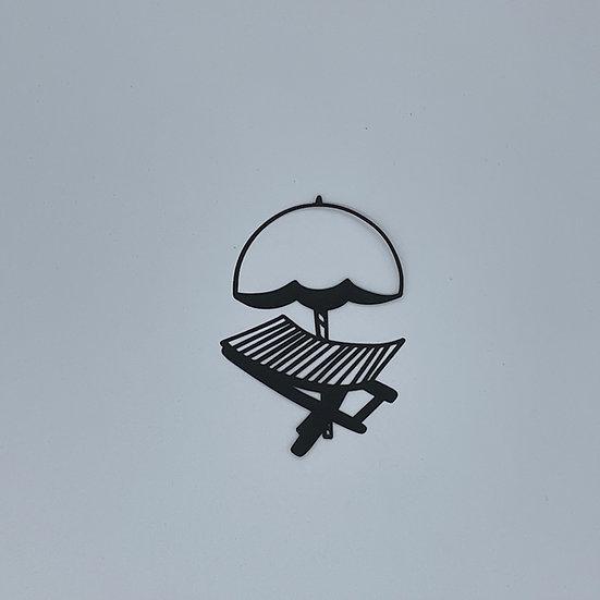 Beach Chair Pre-Cut Cut File