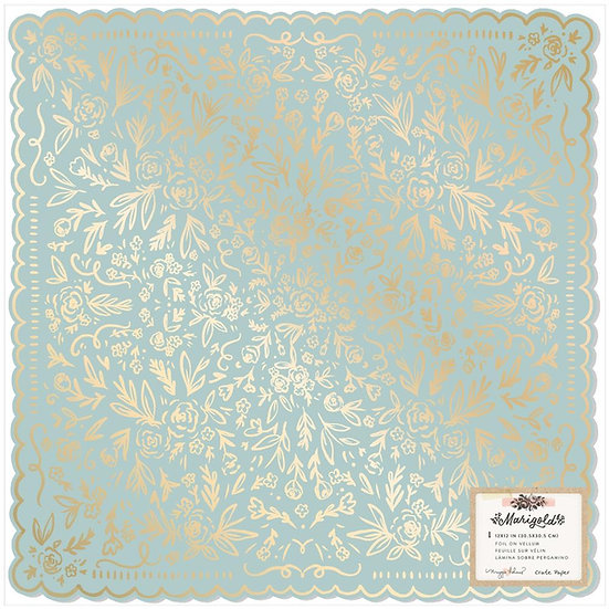 Marigold / Maggie Holmes Specialty Paper w/ Gold Foil Accents