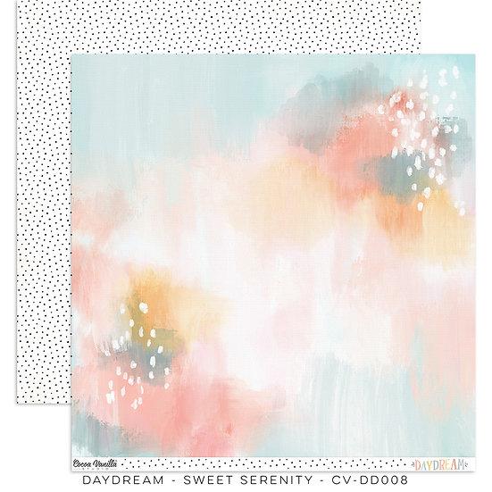 Cocoa Vanilla Studio 12 x 12 Paper -Daydream - Sweet Serenity