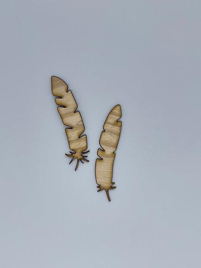 Feathers Wood Veneer Duo