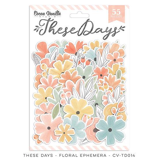 These Days Floral Ephemera // Cocoa Vanilla Studio