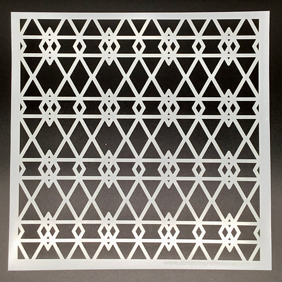 Iron Gate 12 x 12 Stencil
