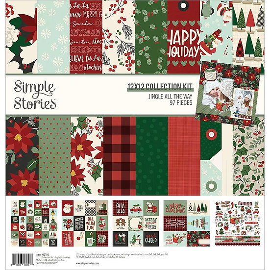 Simple Stories / Jingle All the Way Collection Kit