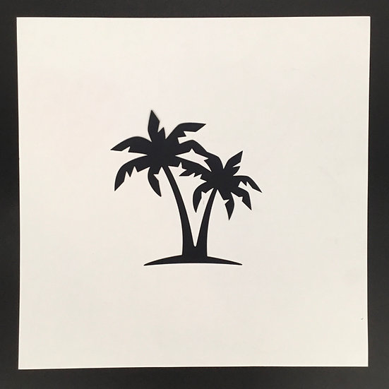 Small Palm Tree Pre-Cut Cut File - Coordinates with Sunkissed
