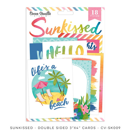 Cocoa Vanilla Studio  Sunkissed -Pocket Cards